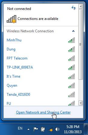 Cách xem, xóa mật khẩu Wifi đã lưu trên laptop